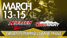 March 13-15 Nielsen Enterprises Grand Finale Presented by Coors Light - Lake Geneva, WI