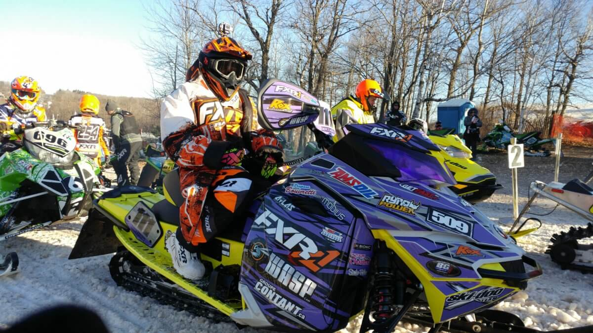 Mailloux Racing Kicked Off 2017