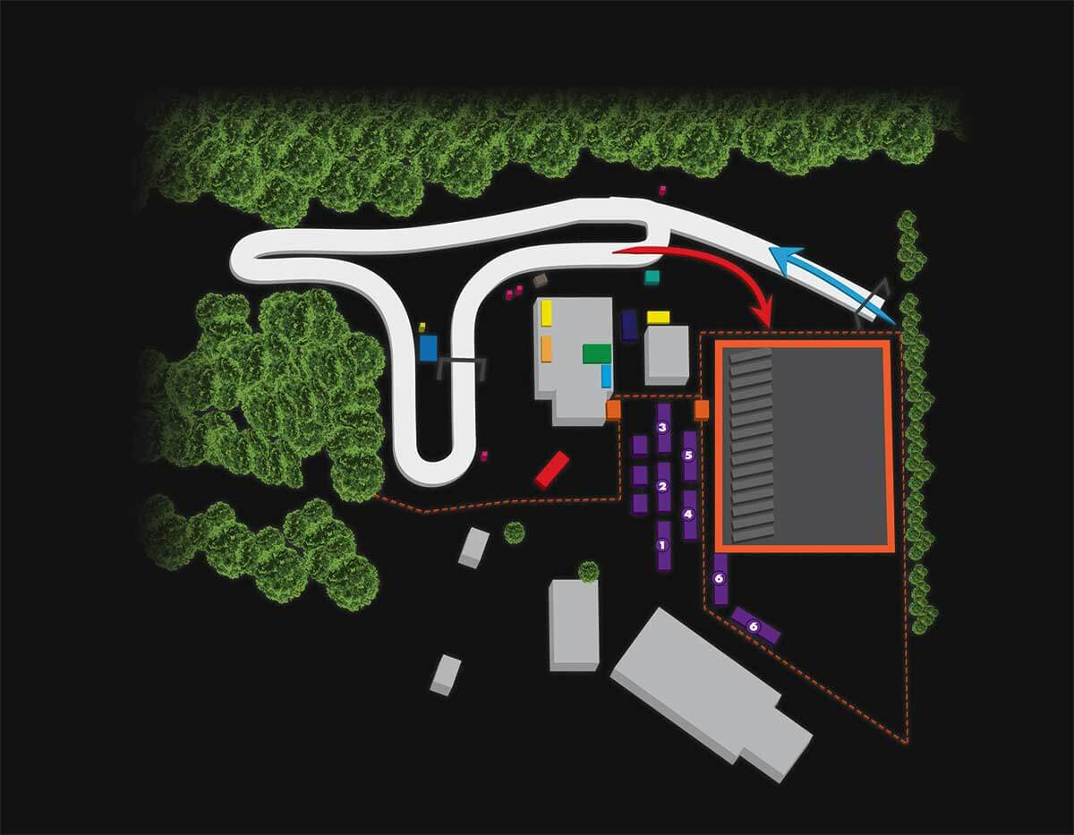 Sundown Race Map