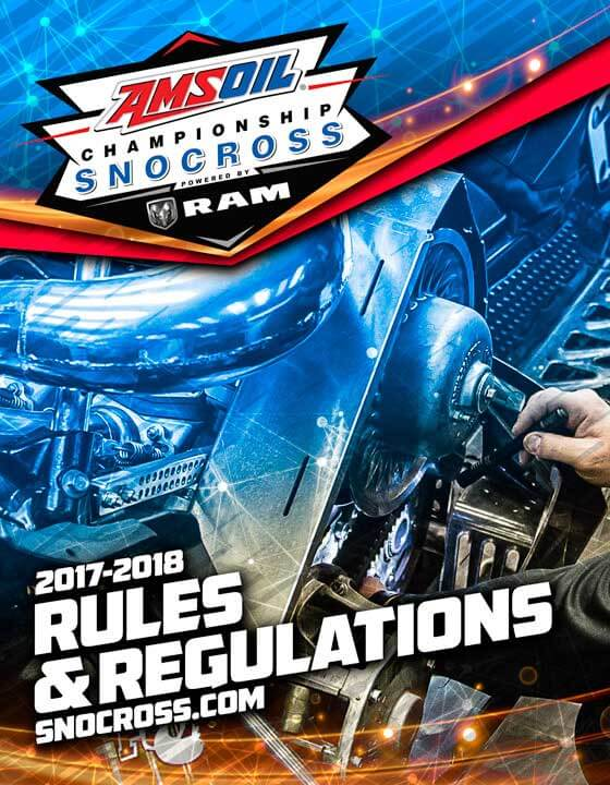 Snocross Rule Book