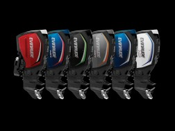 Evinrude E-TEC G2 Line Up with black background