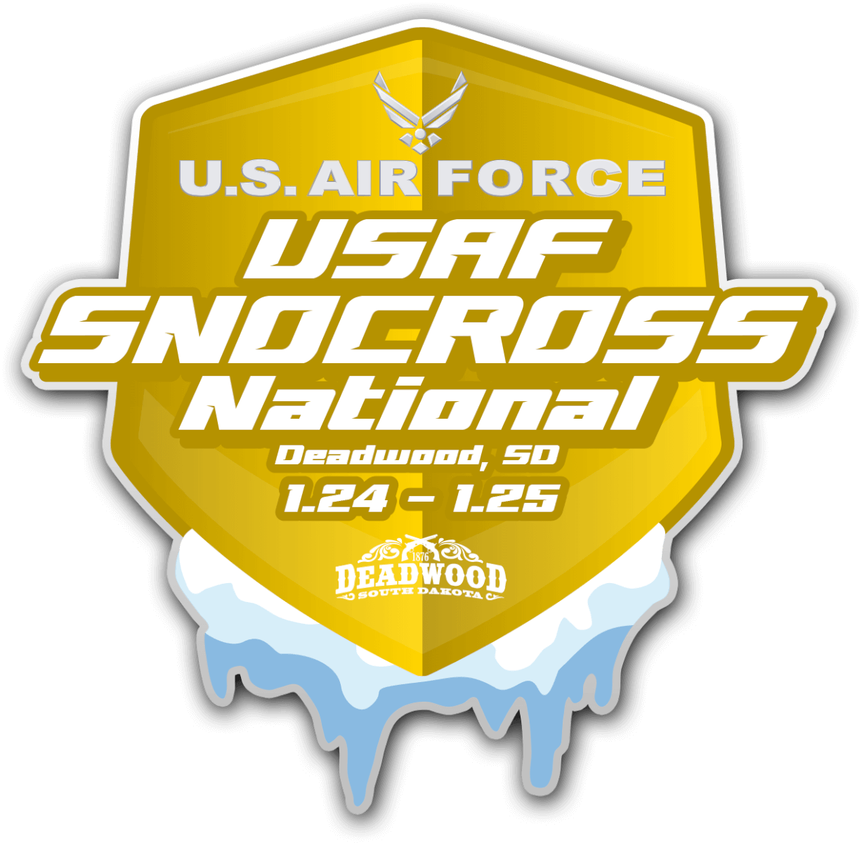 US AIR FORCE DEADWOOD SNOCROSS