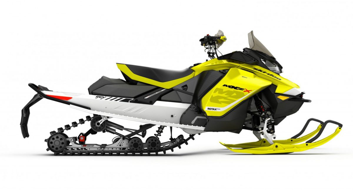 Ski Doo Mxz X 850 E Tec Named Snowmobile Of The Year