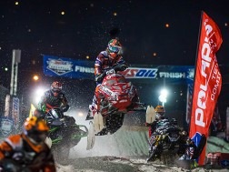 2015-2016 AMSOIL Championship Snocross Season Here's what lies ahead for snocross fans: Duluth, Minn.: Nov. 27-29, 2015 Fargo, N.D.: Dec. 11-12, 2015 Shakopee, Minn.: Jan. 8-9, 2016 Deadwood, S.D.: Jan. 22-23, 2016 Salamanca, N.Y.: Feb. 5-6, 2016 Mt. Pleasant, Mich.: Feb. 26-27, 2016 Chicago, Ill.: March 4-5, 2016 Lake Geneva, Wis.: March 18-20, 2016